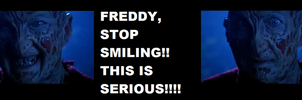 Freddy's Reaction by HorrorMadnessPeep