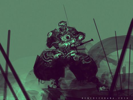 Armored Ninja by benedickbana