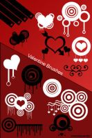 Vector Hearts Brushes for Ps7 by DuskTwight