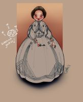 1860s girl by kayananas