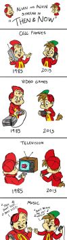 Then and Now with Alvin by BoredStupid100
