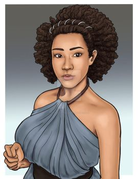 Missandei Cosplay by Uniquesora
