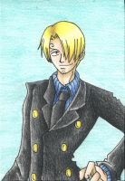 Blackleg Sanji by Fluffy-foxlady