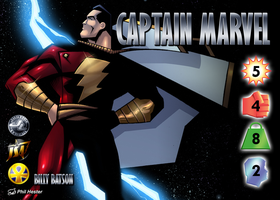 Captain Marvel (Billy Batson) Character by overpower-3rd