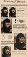 Chainmail brushes and tutorial by SvenjaLiv