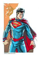 New52 Superman by PencilInPain