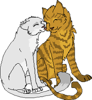 Lionblaze and Icecloud by Nightshine156