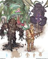 Gamma World Monsters 8 by MikeFaille