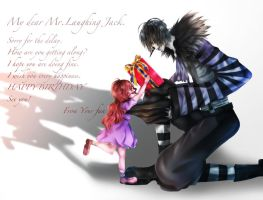 HAPPY BIRTHDAY Laughing Jack by settun