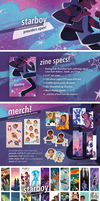 Starboy: A Voltron Legendary Defender Charity Zine by RobynRose