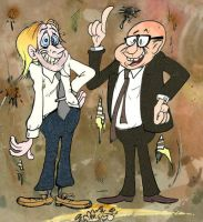 Richie and Eddie by Granitoons