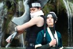 Haku / Zabuza - Naruto (Photo Retouch) by Mylene-C