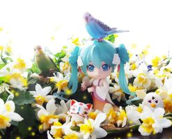 HatsuneMiku. Welcome to Spring!! by ng9