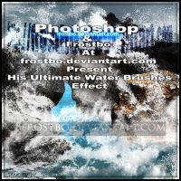 Ultimate Water Splash Brushes Photoshop SET 3 by FrostBo
