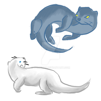 MoreOtters by evilmind2