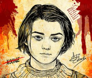 Arya Stark by powerhouse-bg