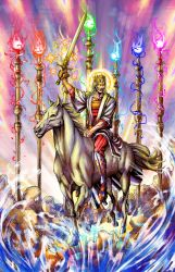 The Son of God Returns Color by phil-cho