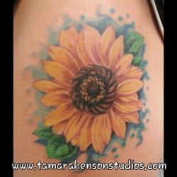 TATTOO: Sunflower by briescha