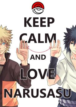 Keep Calm and Love NaruSasu by Satosanteru