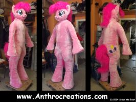 MLP PP Full 2014 Fursuit Pony Horse with Balloon by AtalontheDeer