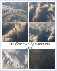 We flew over the mountains by Gwathiell