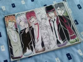 Diabolik Lovers - WIP 2 by yeon-rin