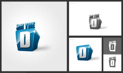 On the D logo by rizviArts