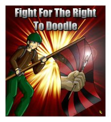 Fight for the Right to Doodle by Mr-Page