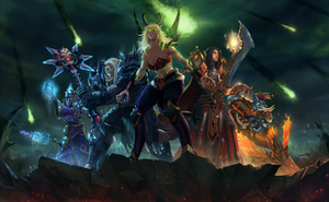 Warcraft: Legion by raikoart