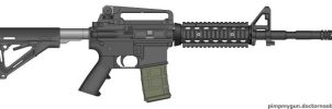 Lancer Systems 20-Round Opaque L5AWM by Scarlighter