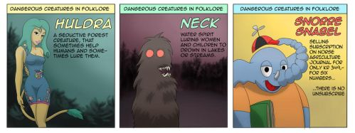Dangerous creatures in norse folklore by rodrev
