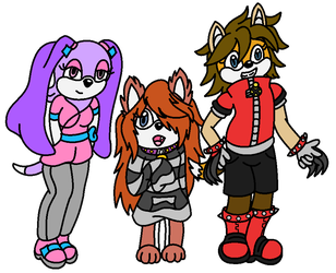 Team K9 by VeronicaPrower