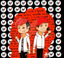 Twenty one pilots (stressed out) by ImagineAngie