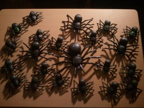 My Flocked Tarantulas Collection by BenorianHardback26