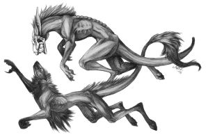 Morbius n Icky by Doctor--Ren