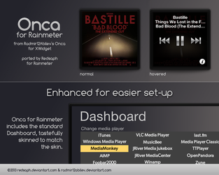 Onca for Rainmeter [v1.1 | 5/May/2014] by Redsaph