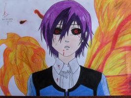Touka Of Tokyo Ghoul by MaxtraDesing