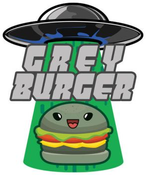 Grey Burger franchise logo by Gunderstorm