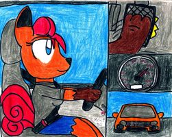 Vicky Driving and Flooring It by MC4E84