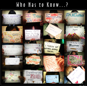 Who Has to Know...? by nena