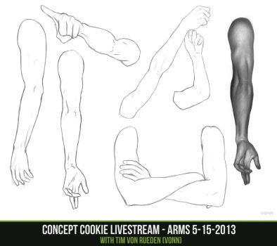 Concept Cookie Livestream - Arms 5-15-2013 by CGCookie