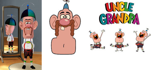 Uncle Grandpa from Cartoon Network (sims 3) by Alberta360