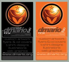 dmario.org business cards by dmario