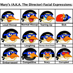 Mary's Facial Expressions Part 2 by Mario1998