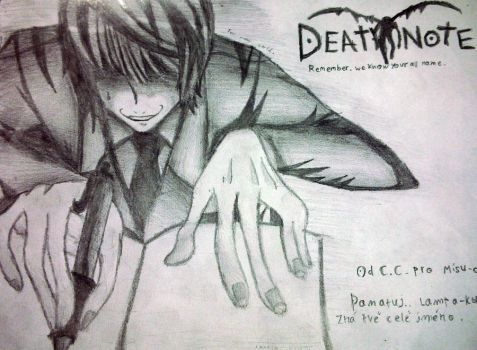 Light Yagami - Time to.. die by ClaireLawlietTeehee