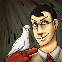 Medic and Archimedes by AccursedAsche