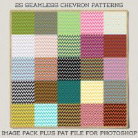 Seamless Chevron Patterns by HGGraphicDesigns