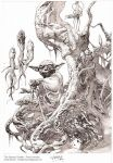 Swamp Dweller- pencil by andybrase