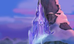 Elsa's Ice Castle by sailormuffin