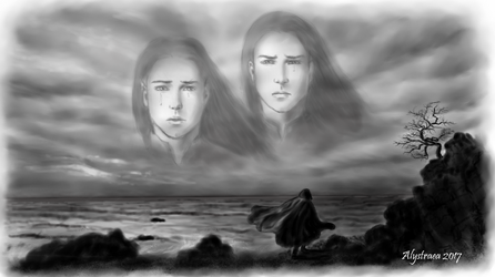 He wandered the shores by alystraea